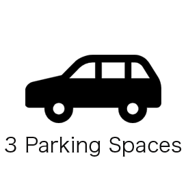 3 Parking Spaces